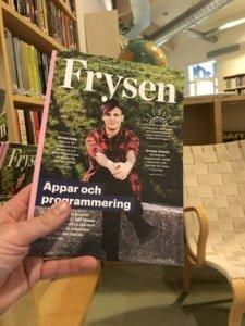 Frysen #4 är här! Finns att läsa på Fryshuset i Hammarbysjöstad.